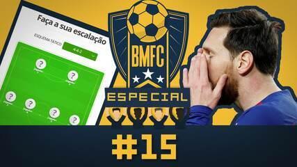 """BMFC Especial #15: Messi pistola nas redes sociais e """"VC escala"""" com times de 1982 e 2002"""