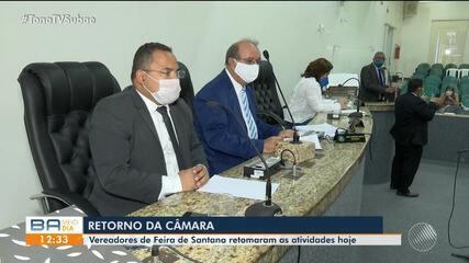 Câmara Municipal de Feira de Santana retoma atividades nesta segunda-feira (13)