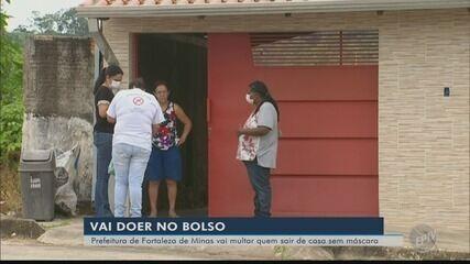 Prefeitura vai multar quem sair de casa sem máscara em Fortaleza de Minas (MG)