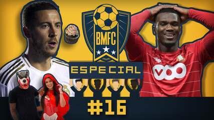 """BMFC Especial #16: Criatividade de Douglas Costa e """"luta"""" de Hazard contra os doces"""
