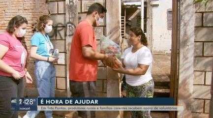 Ações solidárias ajudam pessoas em isolamento por conta do coronavírus
