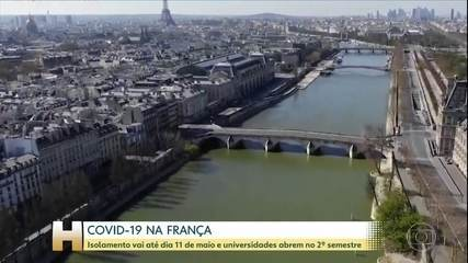 França passa das 15 mil mortes por causa da COVID-19