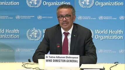 Diretor da OMS lamenta decisão dos EUA de suspender financiamento