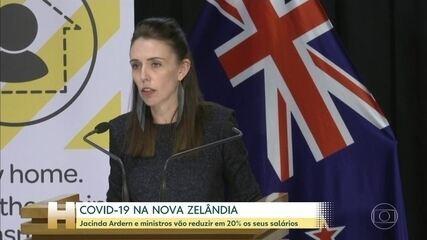 Primeira-Ministra da Nova Zelândia anuncia redução de 20% no sálario