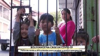Bolivianos em SP relatam dificuldades em conseguir auxílio emergencial do governo
