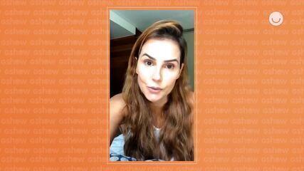 Deborah Secco compartilha com fãs dicas para manter saúde na quarentena