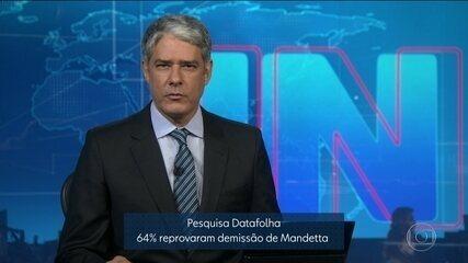 Pesquisa Datafolha: 64% reprovaram demissão de Mandetta