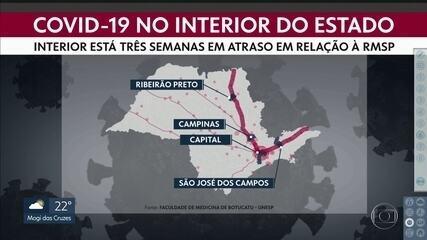 215 cidades de SP registram casos de COVID-19