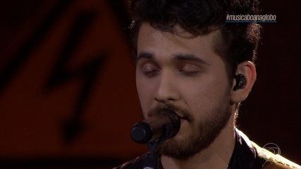 Gustavo Mioto canta 'Perfect'
