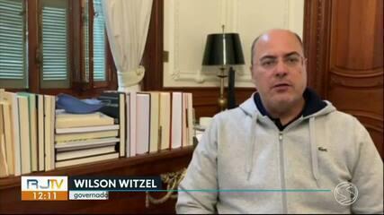 Wilson Witzel continua se recuperando do coronavírus