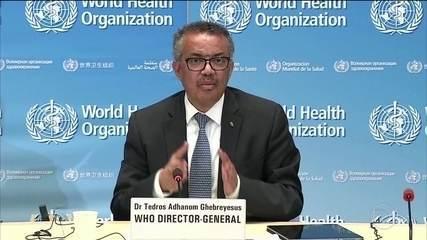 Diretor-geral da OMS diz que problemas políticos podem servir de combustível pra pandemia