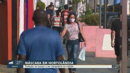 Hortolândia decreta obrigação do uso de máscara de proteção contra coronavírus