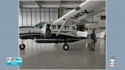 Polícia Federal apreende cocaína escondida em avião em Igarassu
