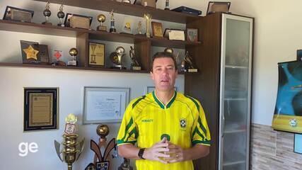 Danilo relembra a conquista do Mundial de Futsal de 1996