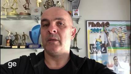 Fininho relembra a conquista do Mundial de Futsal de 1996