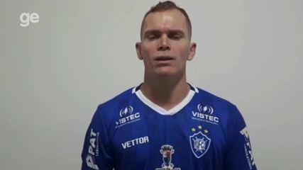 Atacante Toni Galego fala sobre a sua carreira e o momento no Vitória-ES