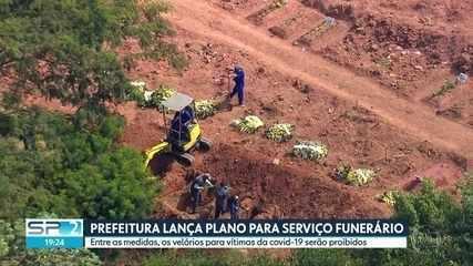 Prefeitura de SP amplia a capacidade de serviços nos 22 cemitérios para vítimas da covid