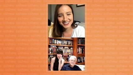 Antonio Fagundes e Alexandra Martins falam sobre o Dia Mundial do Livro