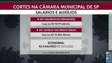 Câmara Municipal de São Paulo aprova redução de salários de vereadores