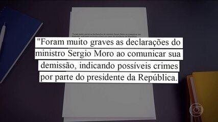 Saída de Moro provoca críticas de autoridades e de organizações da sociedade civil