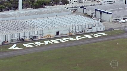Boeing desiste de comprar parte da Embraer
