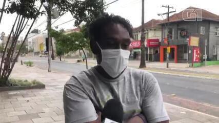 Homem foi até agência da Caixa para sacar dinheiro do Auxílio Emergencial