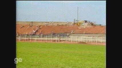 Relembre como foi construção do estádio Adail Nunes da Silva, o Taquarão, em Taquaritinga