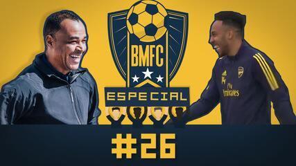 BMFC Especial #26: Cafu recria sequência de chapéus, e Arsenal volta aos treinamentos
