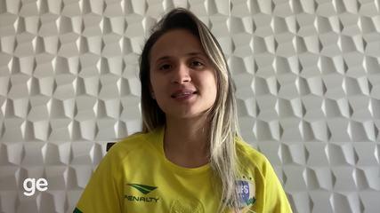Seis vezes melhor do mundo, Amandinha fala sobre a final do Grand Prix de Futsal 2019