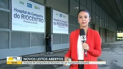 Hospital do Riocentro começa a funcionar amanhã
