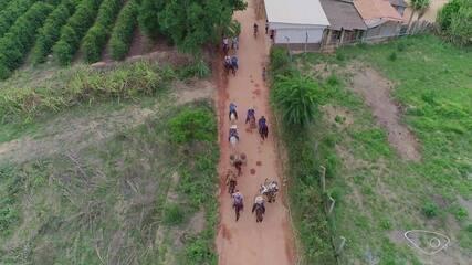 Terra capixaba dos tropeiros na Maratona Em Movimento