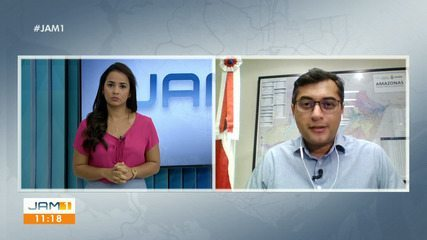 Governador Wilson Lima fala sobre impeachment e reabertura do comércio