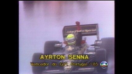 Confira a última volta do Grande Prêmio de Portugal de 1985