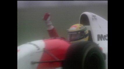 Confira a última volta do Grande Prêmio da Europa de 1993