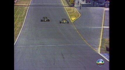 Confira a última volta do Grande Prêmio da Espanha de 1986