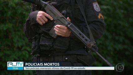 Seis policiais morreram de Covid-19 no estado