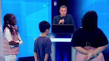 'Pequenos Gênios' testa conhecimento, e as crianças impressionam a todos!