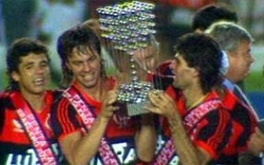 Em 1992, Flamengo é pentacampeão brasileiro