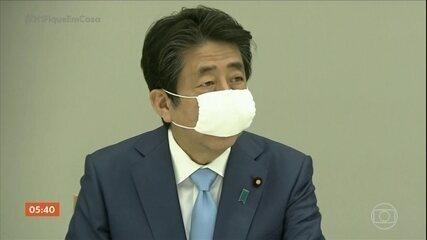 Primeiro-ministro do Japão estende estado de emergência no país até o fim de maio