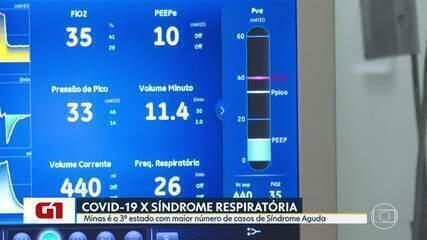 Minas Gerais é o terceiro estado com maior número de internações por Síndrome Respiratória