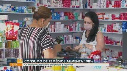 Consumo de medicamentos sobe 200% na pandemia da Covid-19 no estado de São Paulo