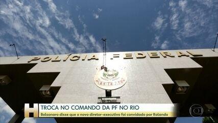 Bolsonaro diz que superintendente do RJ será número 2 da PF 'a convite' do diretor-geral