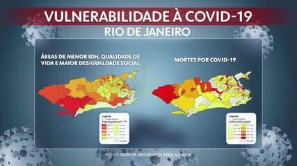 Coronavírus tem taxa de mortalidade até dez vezes maior em áreas pobres