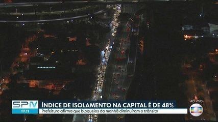 Prefeitura aumenta os bloqueios de trânsito na capital paulista