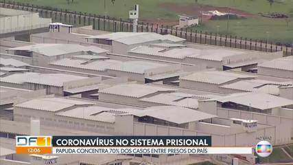 DF concentra 70% dos casos de coronavírus entre os presos do Brasil