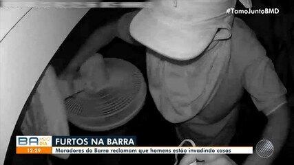Major fala sobre ocorrências de roubo e assaltos na região da Barra, em Salvador