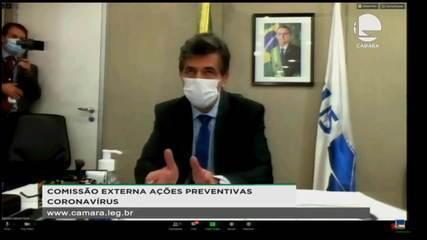 'País não conta mais com os 15 mil respiradores comprados da China', diz Teich