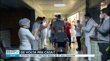 Médico internado com Covid-19 recebe alta hoje depois de 41 dias internado