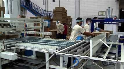 Indústria sente efeitos da queda na demanda por causa do isolamento