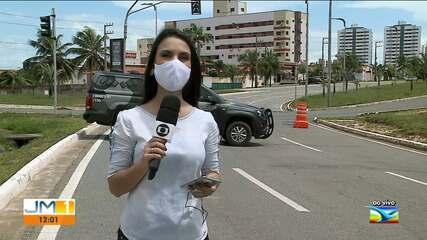 Veja como está o movimento em São Luís no 5º dia de lockdown